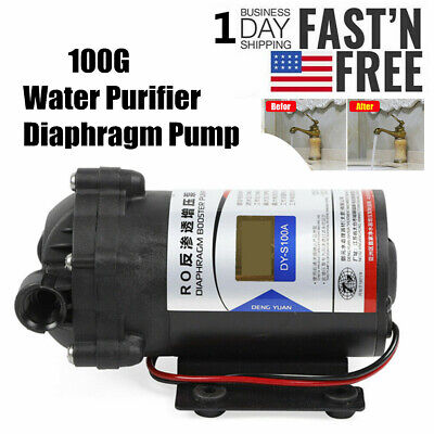 Ro Booster Pump Water Purifier Diaphragm Pump Reverse Osmosis 100g Dc 24v Sale