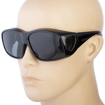 Large Fit Cover Over Most Rx Glasses Polarized Sunglasses Safety Drive Anti (Polarised Safety Sunglasses)