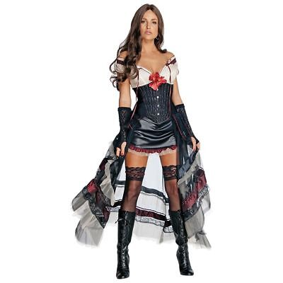 Lilah Women's Adult Jonah Hex Sexy Saloon Girl Halloween Dress Costume, S](Jonah Hex Costume Lilah)