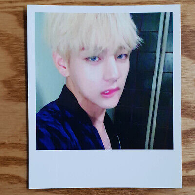 V Taehyung Official Photocard BTS 2nd Album Wings Kpop Genuine