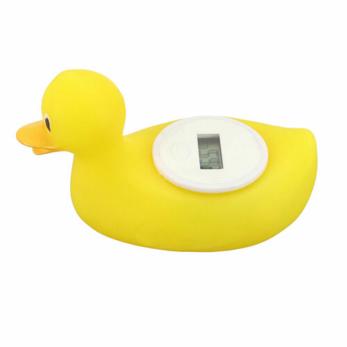 Cute Baby Duck Digital Thermometer Bath Floating Toy Water Temperature Tester