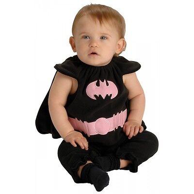 Infant Batgirl Costume (Batgirl Baby Infant Girls Bat Girl Halloween)