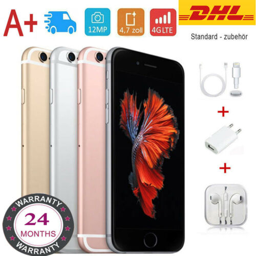 Apple iPhone 6S 32GB 16GB 64GB 128GB Smartphone Spacegrau Rosegold Gold Silber