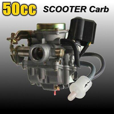 Carburettor ATV Carburetor Carb For GY6 50CC Moped Scooter Gator 50 Roketa UK