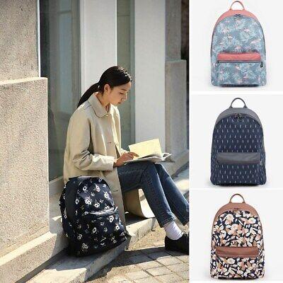 Flamingo Printing Women Backpack Casual Girl School Shoulder Bag Travel (Print Backpack)