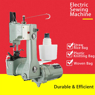 Electric Industrial Portable Bag Closer Sack Closing Stitching Sewing Machine