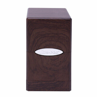 Ultra Pro Satin Tower Deck Box - Forest Oak New