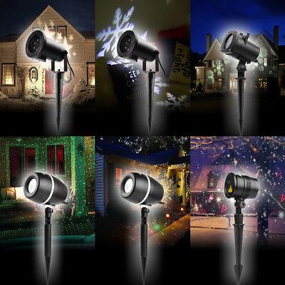 Laser Licht Xmas Halloween Home Party Licht Effekt Strahler (Halloween Garten)