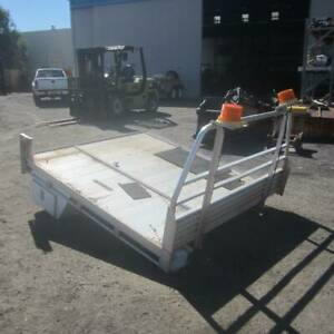 ALUMINIUM UTE TRAY WITH TOOLBOX AND LARGE SLIDING DRAW UNDERNEATH Kewdale Belmont Area Preview