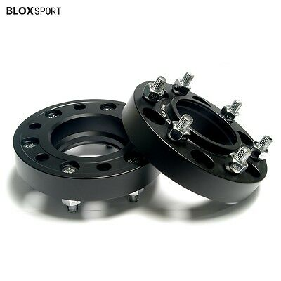"(2) 1"" inch 6x5.5 Hub Centric Wheel Spacers for GMC Chevrolet Pick Up Off Road"