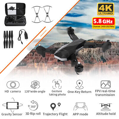5.8G 4K Drone RC Drones x Pro With HD Camera GPS WIFI FPV Foldable Quadcopter