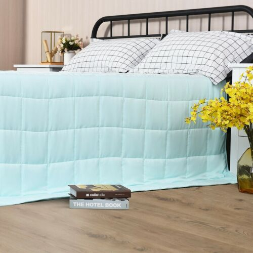 """48"""" x 72"""" Cooling Twin Bed Size Weighted Blanket for Adults"""
