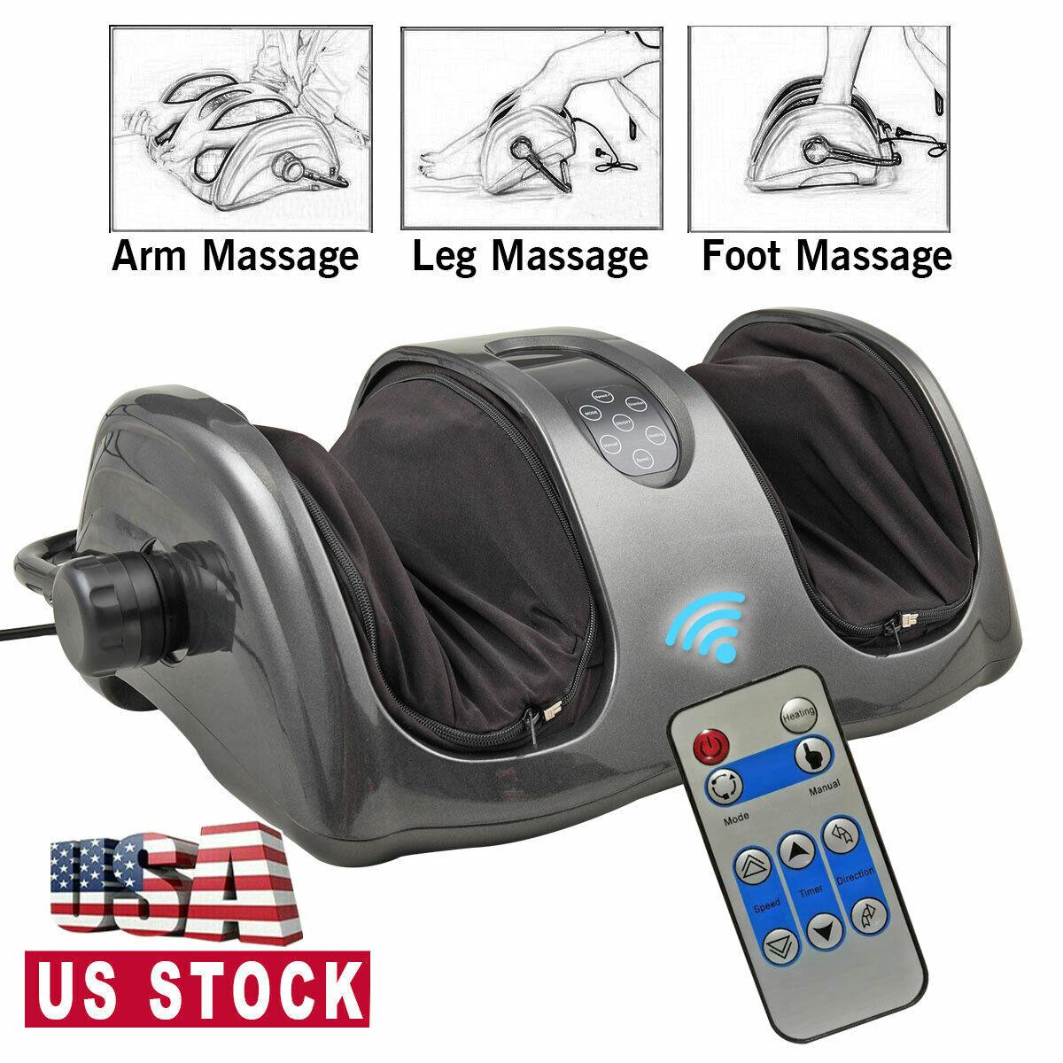 Shiatsu Home Foot Massager Machine With Switchable Kneading