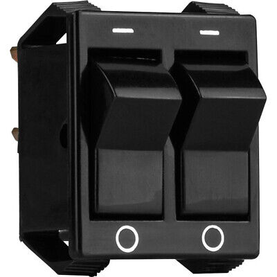 Dual Rocker Switch Panel Mount Spst 1.07 X 0.97 Mounting Hole
