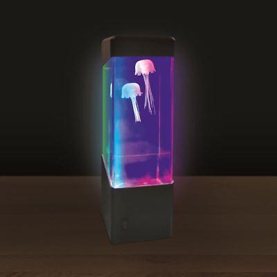 LED Jellyfish Motion Lamp Led Light Tank Desk Bedside Night Light Home Decor