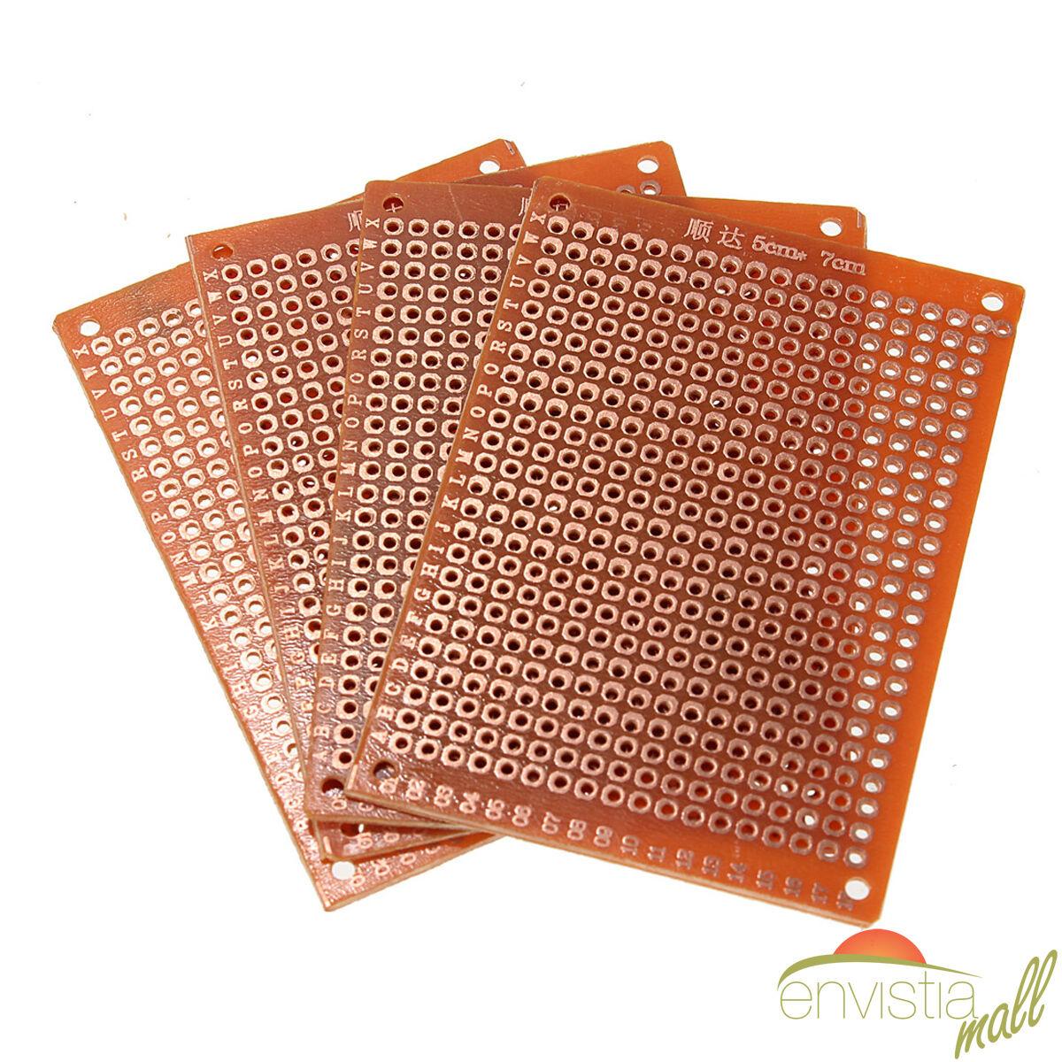 10 pcs 5x7cm diy pcb prototyping perf circuit boards breadboards us rh picclick com