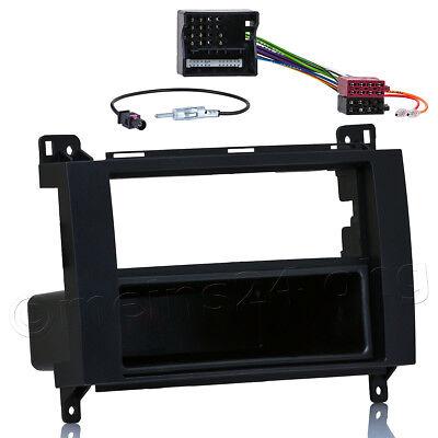 Radio Blende Adapter Kabel Set für MERCEDES A B W169 W245 Crafter Sprinter Vito