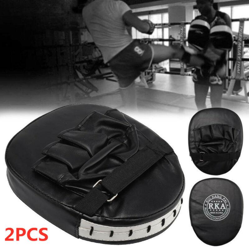 2pc Pratzen Focus Pad Handpratzen Schlagpolster Kampfsport Pratze Boxen Training