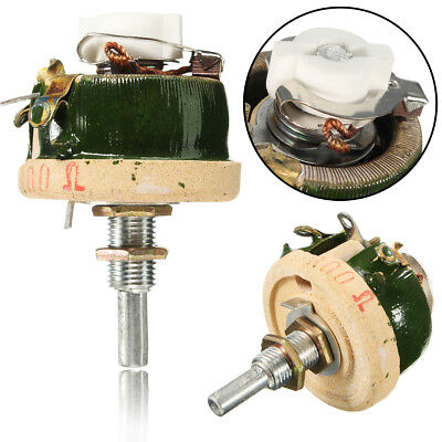 High Power Wirewound Potentiometer Rheostat Variable Resistor 25w 300 Ohm New M