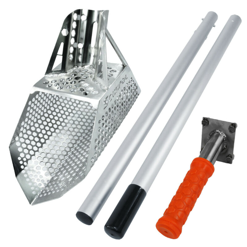 Quest Scoopal Sand Scoop w/ Quest Hand Rod & Quest Travel Rod Set