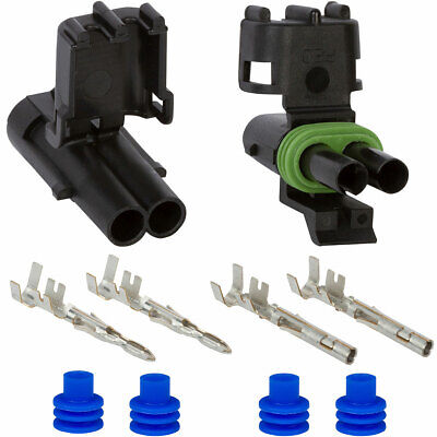 Weather Pack 2 Pin 12 AWG Connector Kit