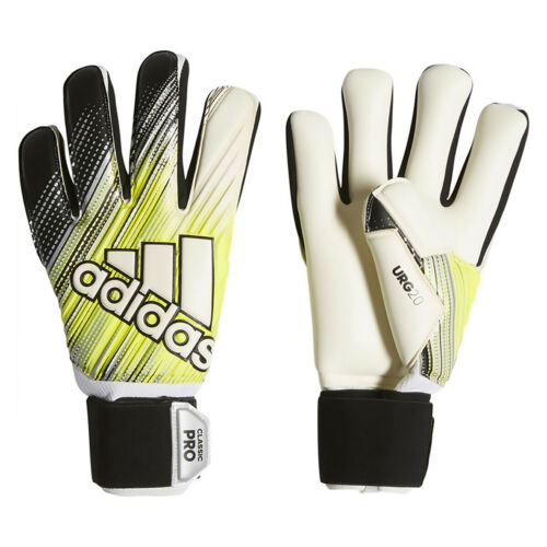 Adidas Classic Pro Soccer Goalie Glove DY2631 - Black, Solar Yellow, White (NEW)