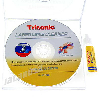 Laser Lens Cleaner for CD DVD CD-ROM XBOX Playstation with Cleaning Kit PS2 PS3 ()