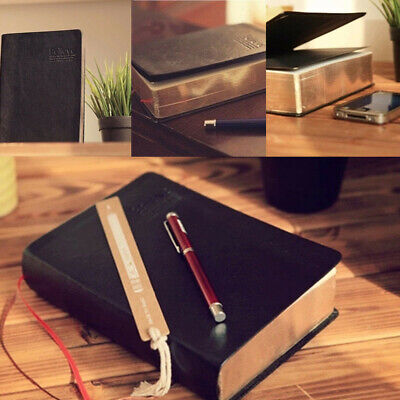 Blank Leather Notebook Vintage Classic Journal Diary Book Thick Sketchbook