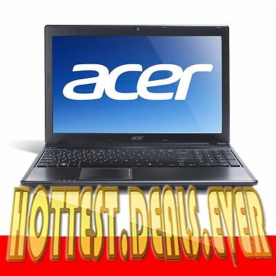 "NEW 1 ACER ASPIRE INTEL i3 2.2GHz 15.6"" 4GB 500GB HDMI WEBCAM Laptop Notebook"