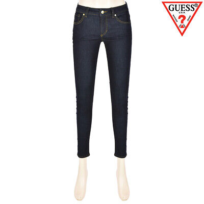 "GUESS KOREA Women Rinse Premium Ultra Ankle Skinny Jeans 24""~30"""