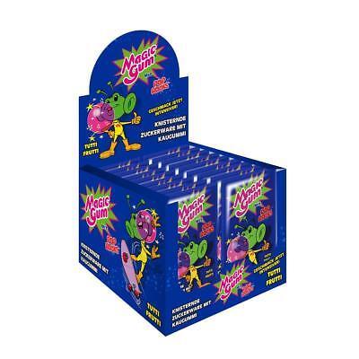 Pop Rocks Magic Gum Tutti Frutti 50Stk. im Display