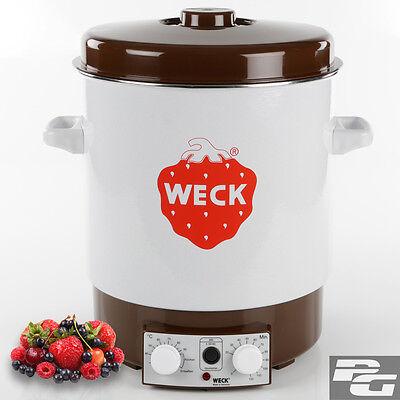 Einkochautomat Weck WAT15 Einkocher Heißgetränkeautomat Glühweintopf Einkochtopf