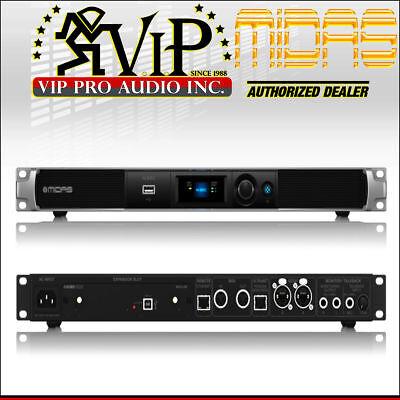 Midas M32C Mint 40-ins 25-bus Digital Rack Mixer w/32 x 32 USB Audio Interface