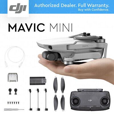 DJI MAVIC MINI DRONE - 12MP 2.7K HD Camera Gimbal. Up to 30 Minutes Flight Time.