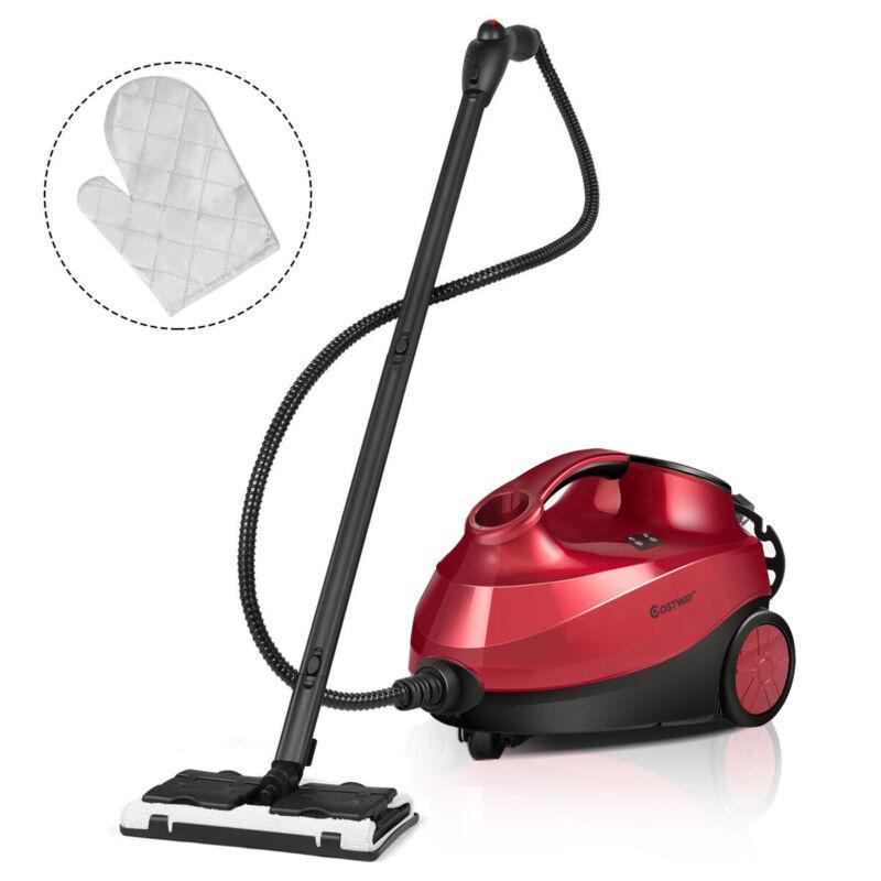 2000W Heavy Duty Steam Cleaner Mop Multi-Purpose W/19 Accessories 4.0 Bar 1.5L