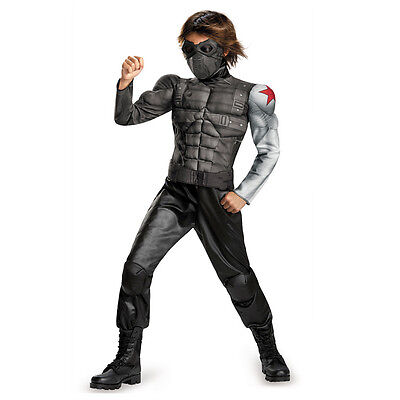 Captain America Movie 2 The Winter Soldier Classic Child Muscle Costume 73372