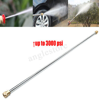 36'' 3000psi Spary Gun WAND LANCE For Power Pressure Washer Extension Water -
