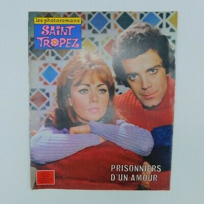 Romanphoto Saint-Tropez n°27 avril 1970♦Sylvie Vartan ♦ Maria Callas ♦ Mode