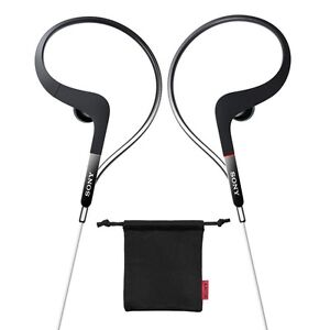 NEW-Sony-XBA-S65-Sports-Balanced-Armature-In-Ear-Headphones-w-Pouch-BLACK