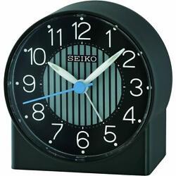 Seiko Alarm Tabletop Clock Asami Quartz Black QHE136JLH