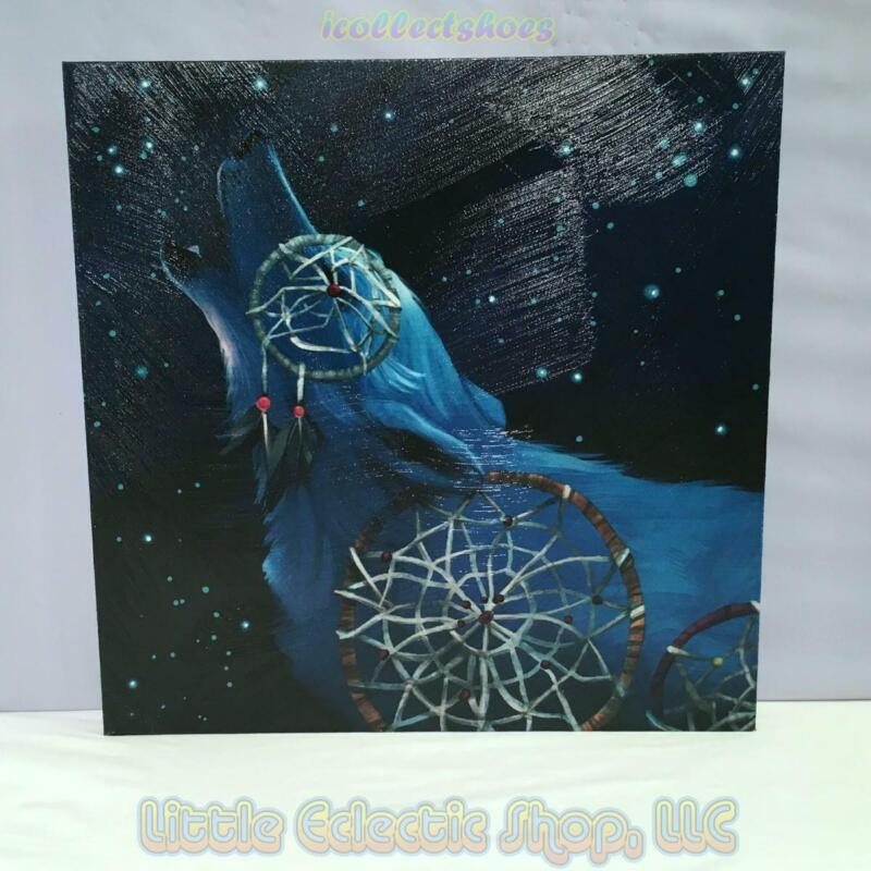 Call of the Wolf 19311 DREAMCATCHER 15x15 Canvas Wall Art New in Gift Box