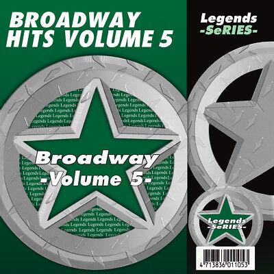 Broadway Musical Karaoke CDG CDs Legends Vol 5 ()