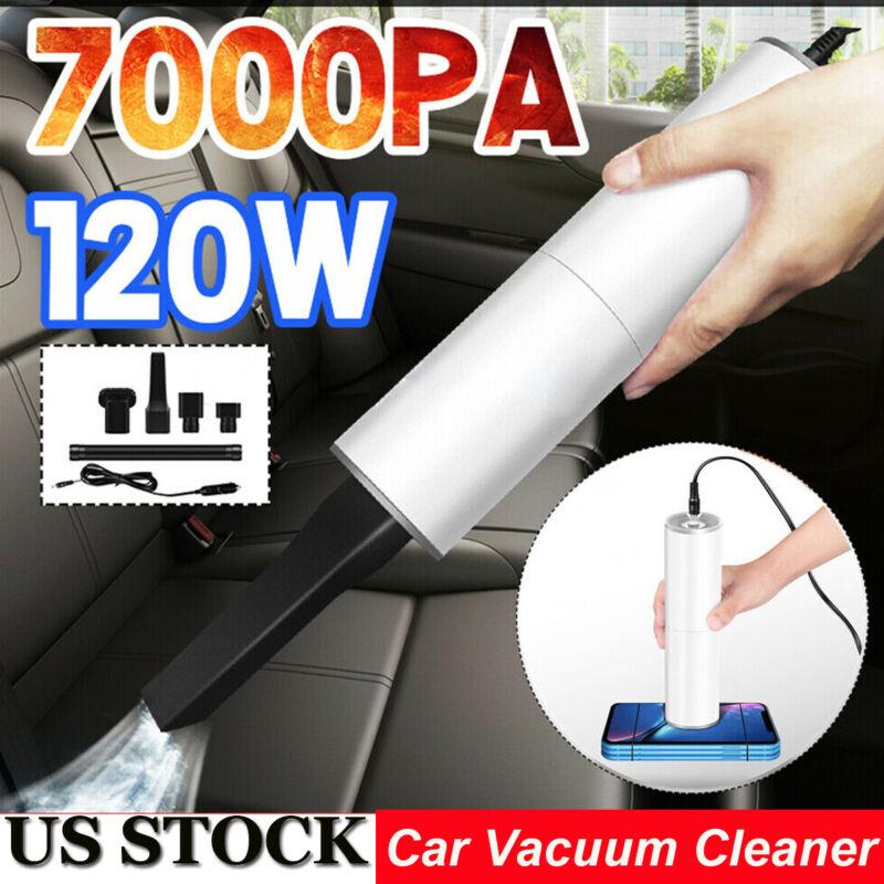 Handheld Car Vacuum Cleaner 12V 120W Auto Mini Portable Wet Dry Duster - US Sale