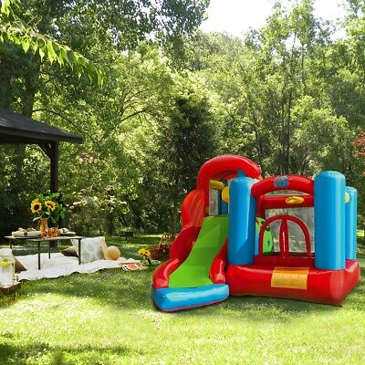 XtremepowerUS outdoor Kids Inflatable Bouncer House Play Cen