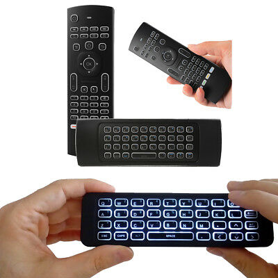 MX3 Air Mouse Wireless Keyboard Remote With Back Light For Android BOX Smart TV
