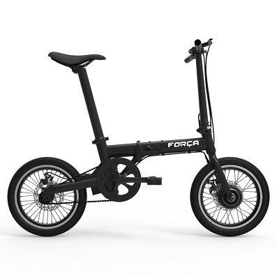FORCA E-Klapprad mit eingebautem Akku E-Bike Faltrad Faltfahrrad Klapprad