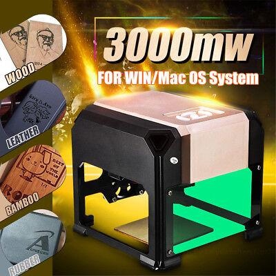 3000MW USB Desktop Laser Engraving Machine Logo Marking FOR WIN/Mac OS System