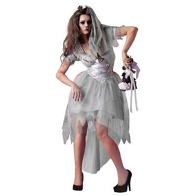 Plus Size Zombie Bride Costume (Sexy Party King Zombie Bride Bloody Dress Costume PK181 ~ Also Plus)