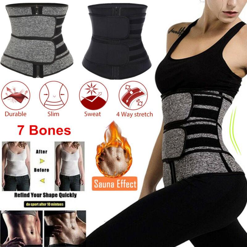 Waist Trainer Women Corset Sauna Sweat Weight Loss Body Shaper Yoga Slimmer Belt