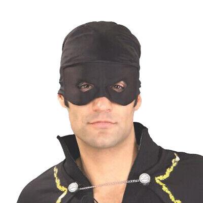 Adult Zorro Bandana with Eye Mask Dueling Blade Fencing Prop Accessory Halloween - Zorro Bandana